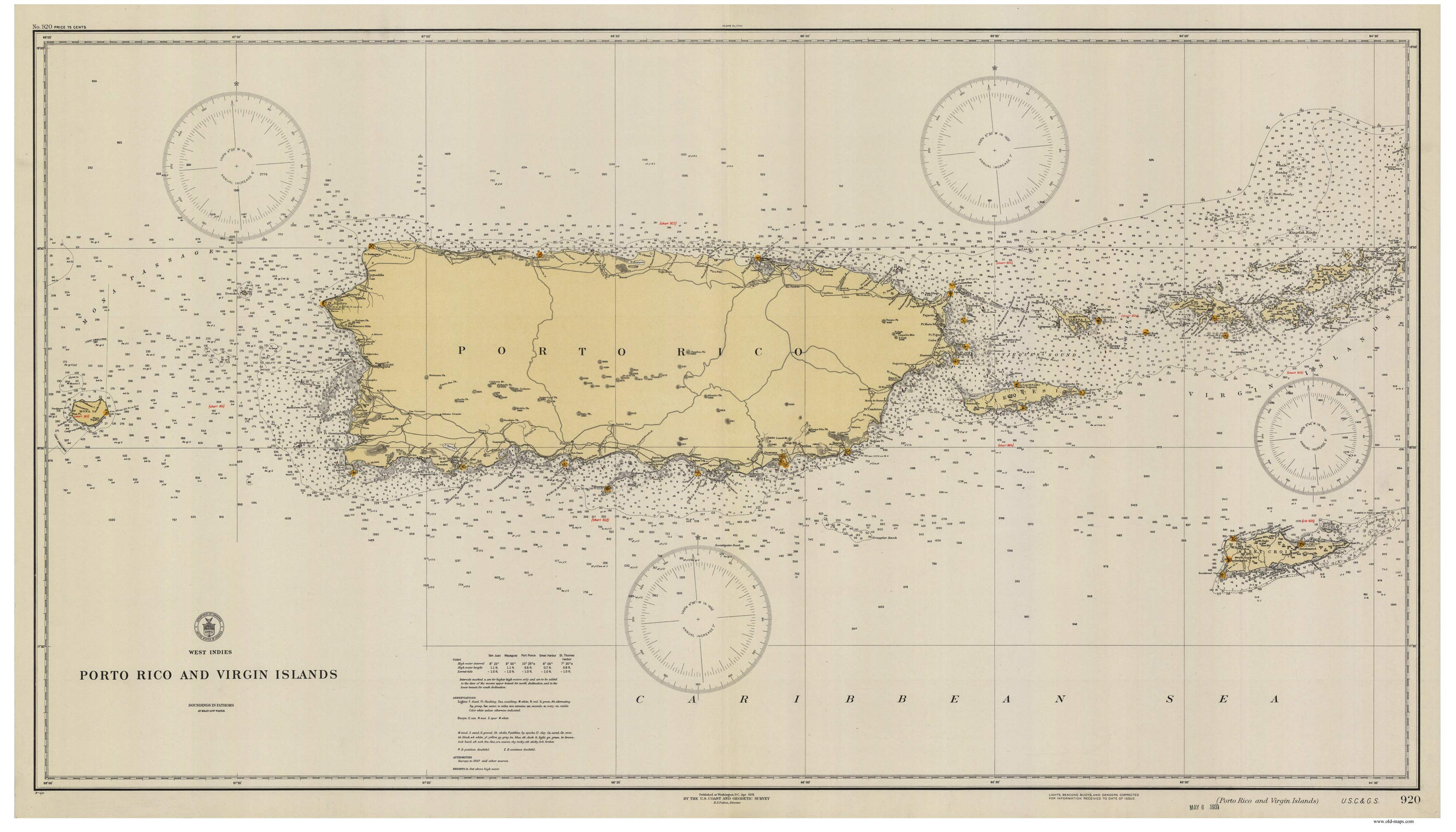 nautical charts of the atlantic coast big area