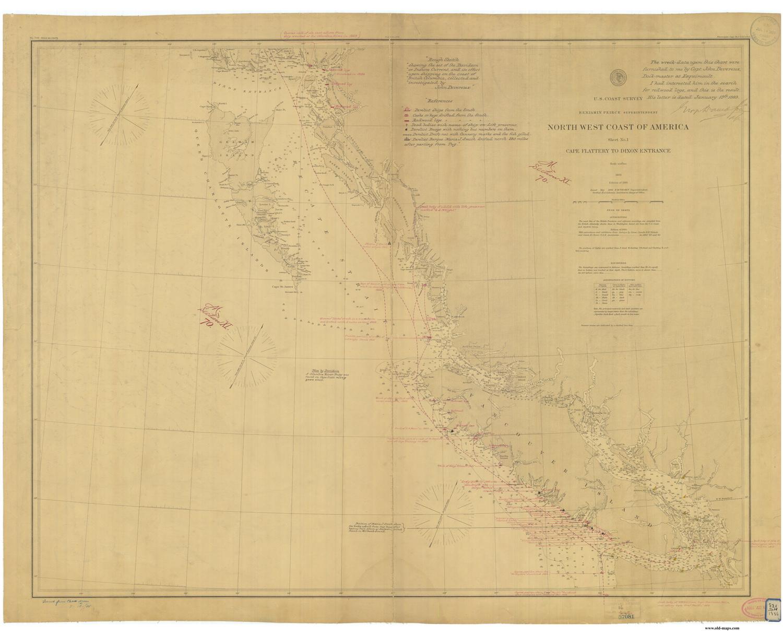 Old Nautical Charts