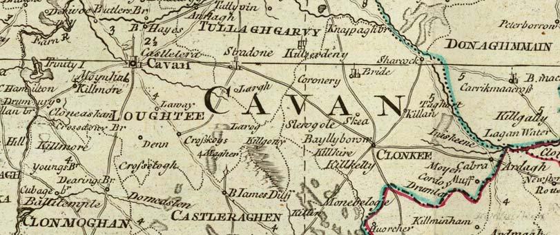 Map Of Ireland Cavan.Old Maps Of Ireland 1790 Roque