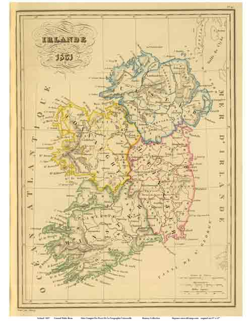 Images Of Map Of Ireland.Old Maps Of Ireland