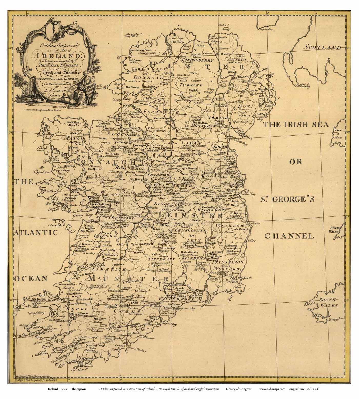 Old Maps of Ireland Ireland Maps on