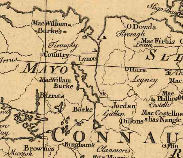 Ancient Map Of Ireland.Old Maps Of Ireland