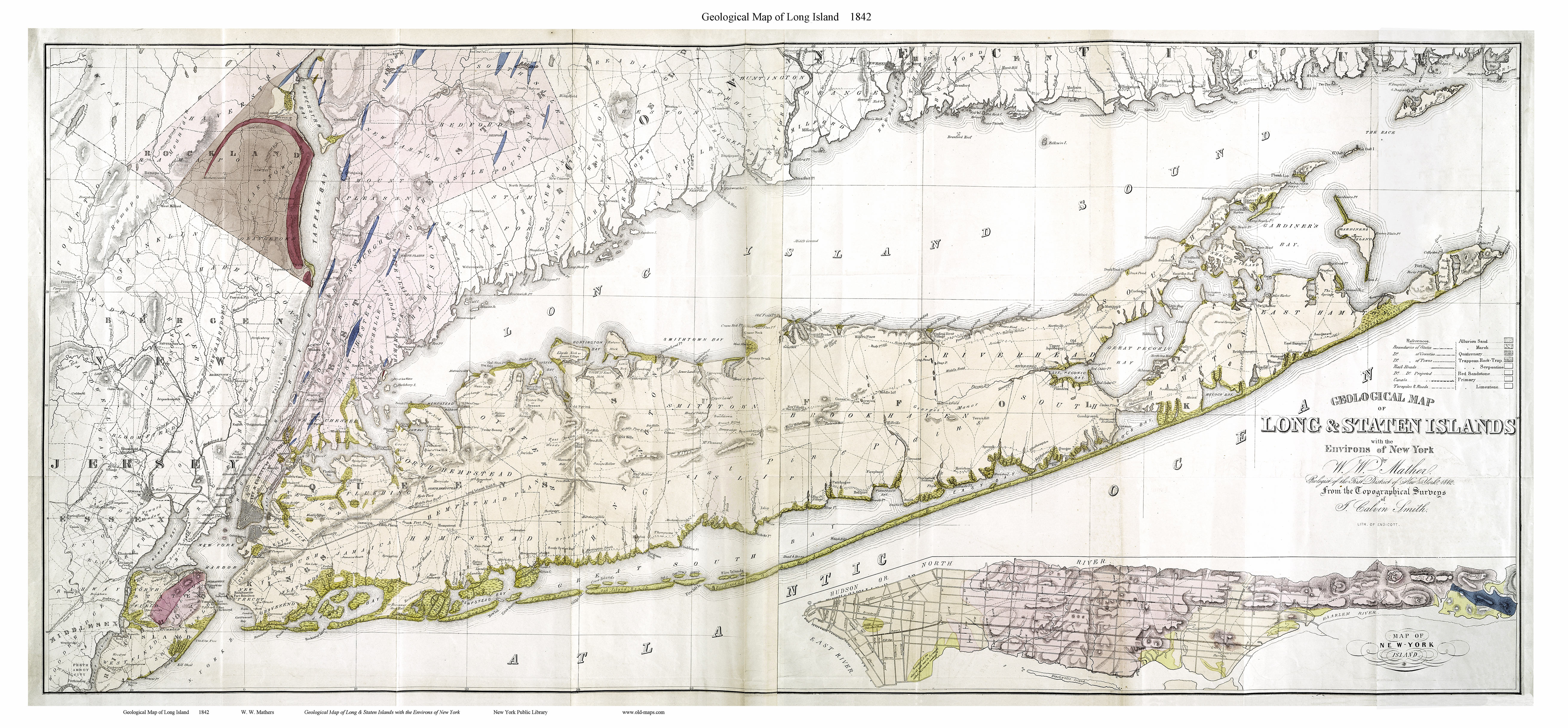 New York Map Long Island.Old Maps Of Long Island New York
