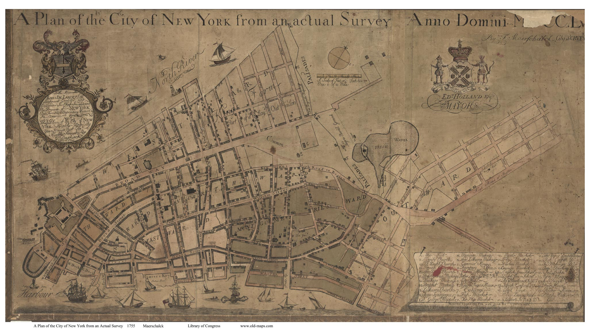 A Walking Tour Of New York Curbed NY - Antique maps nyc