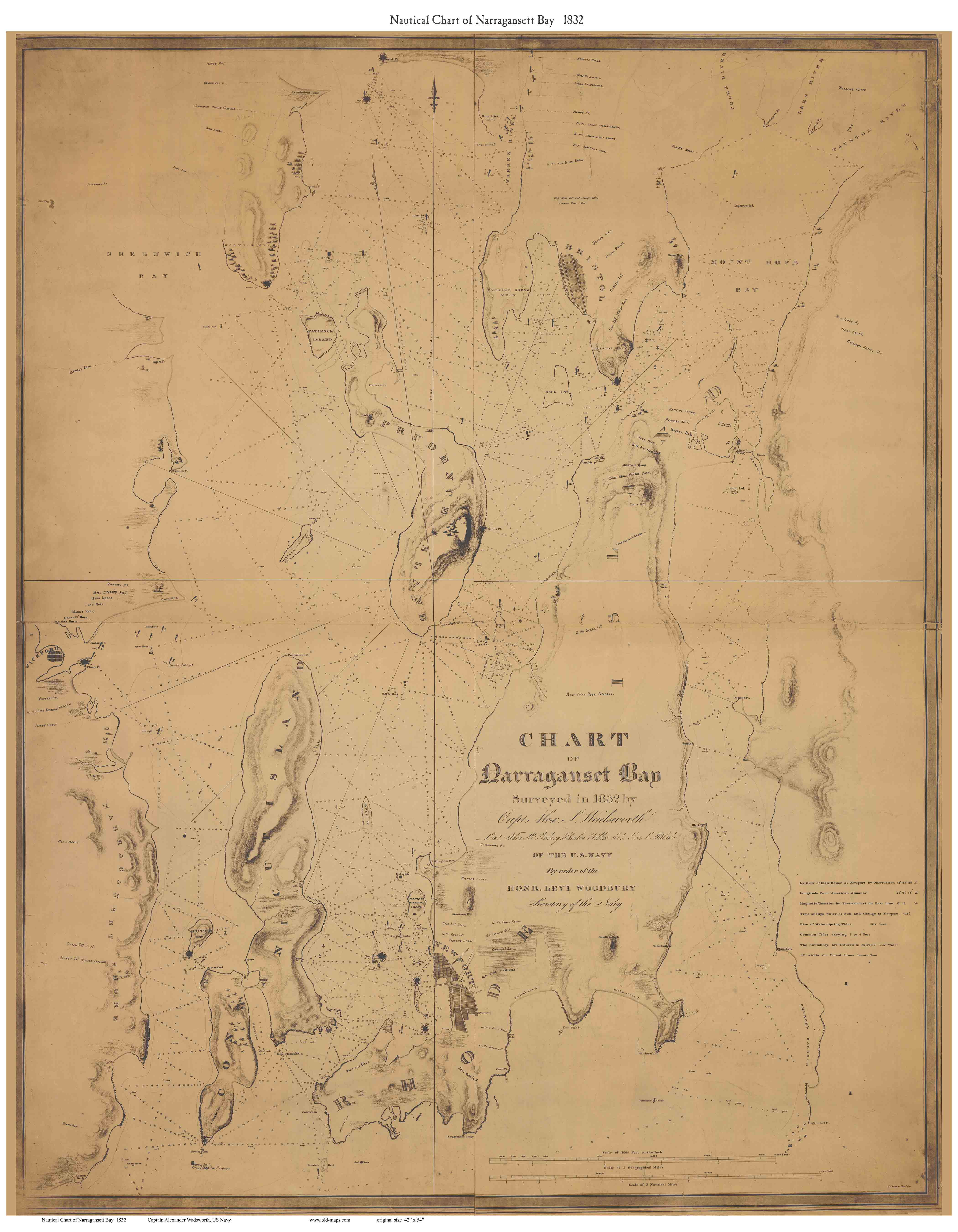 Old Maps Of Rhode Island National Archives Us Map In 1820