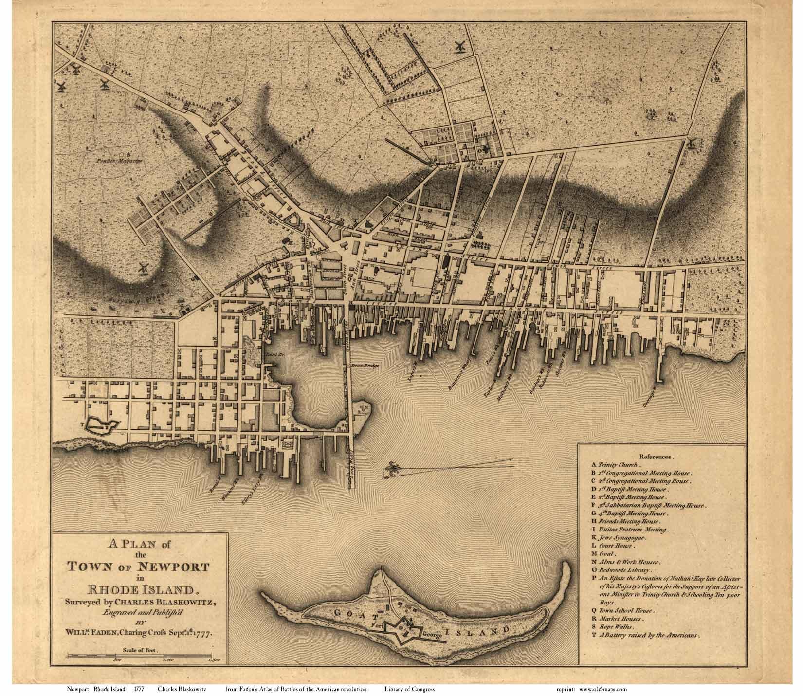 Rhode Island Colony Revolutionary War