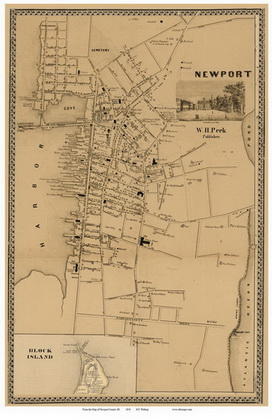 Newport Ri City Map