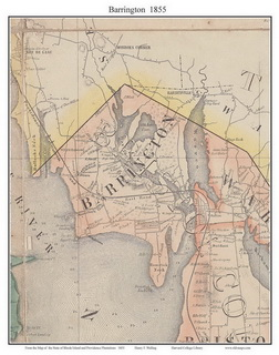 Rhode Island 1855 Town Maps