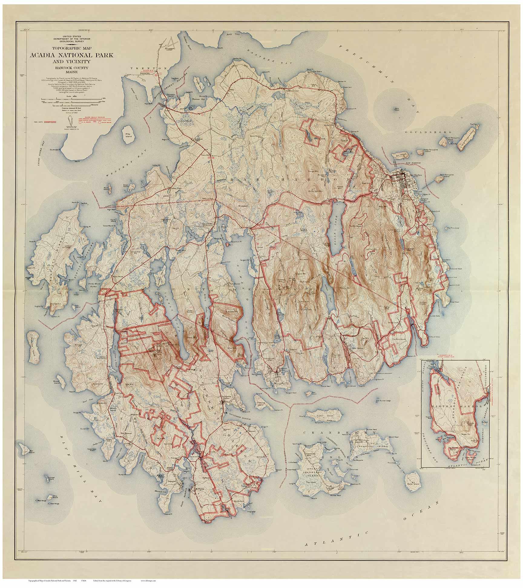 MtDesert_1942_USGS_Acadia_web