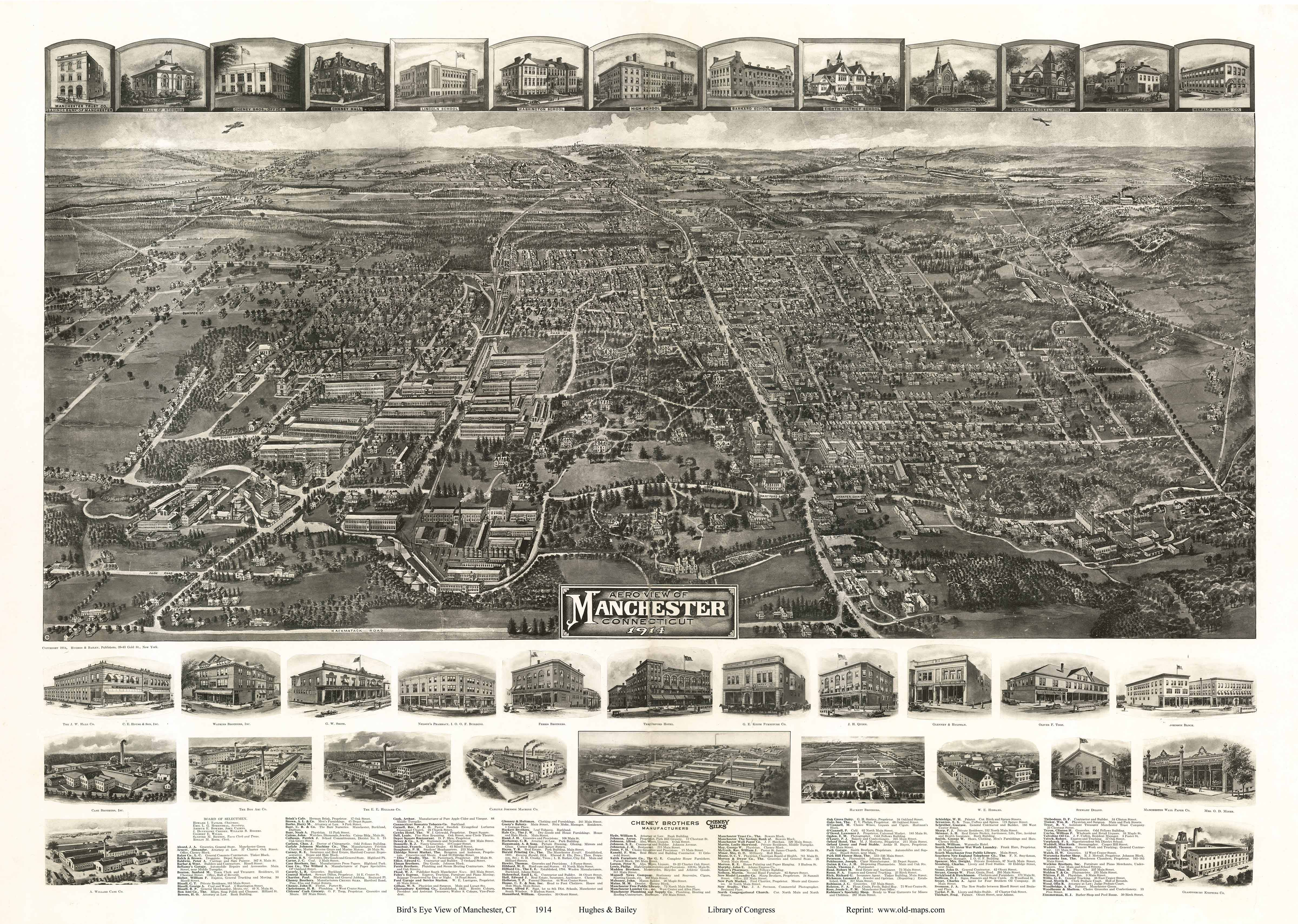 Old Maps Of Hartford County Ct Retail