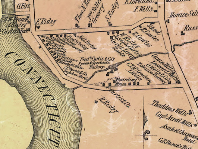Old Maps Of Connecticut - Map of conn