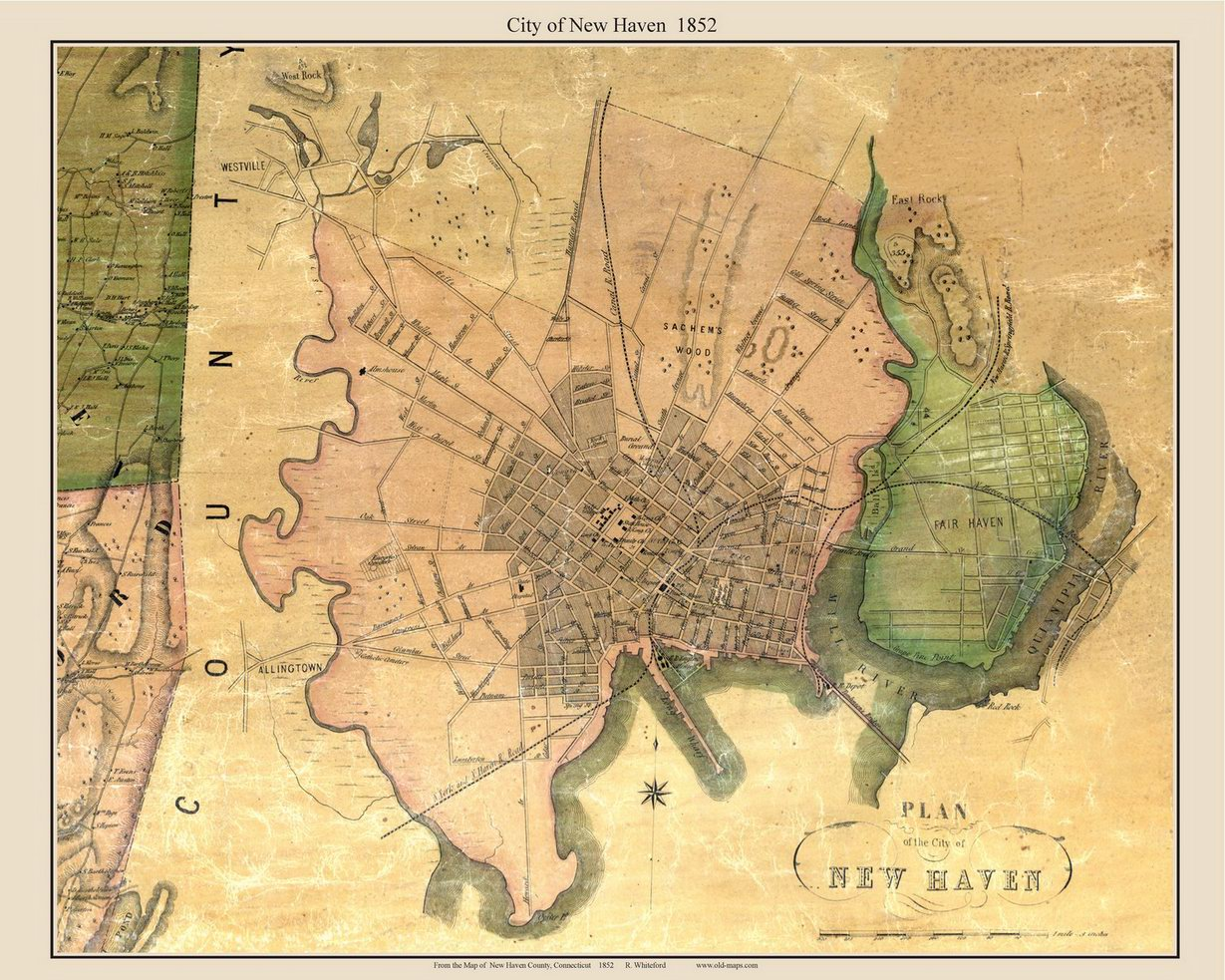 old maps of new haven county ct retail. Black Bedroom Furniture Sets. Home Design Ideas