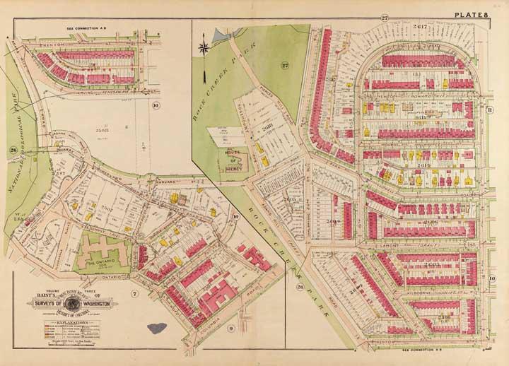Old Maps of Washington DC