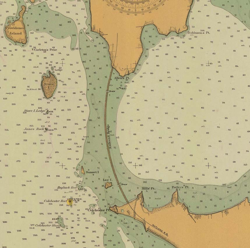Nautical Maps Of Lake Champlain - Us map lake champlain