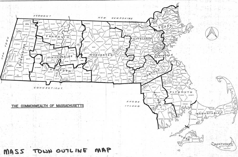 Lively image intended for printable map of massachusetts