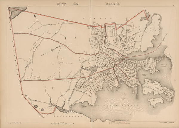 Old Maps of Massachusetts