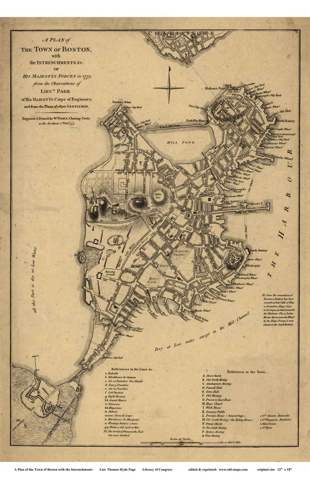 Old Maps of Boston