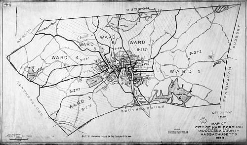 1940 census maps middlesex co ma for Classic house of pizza marlborough ma