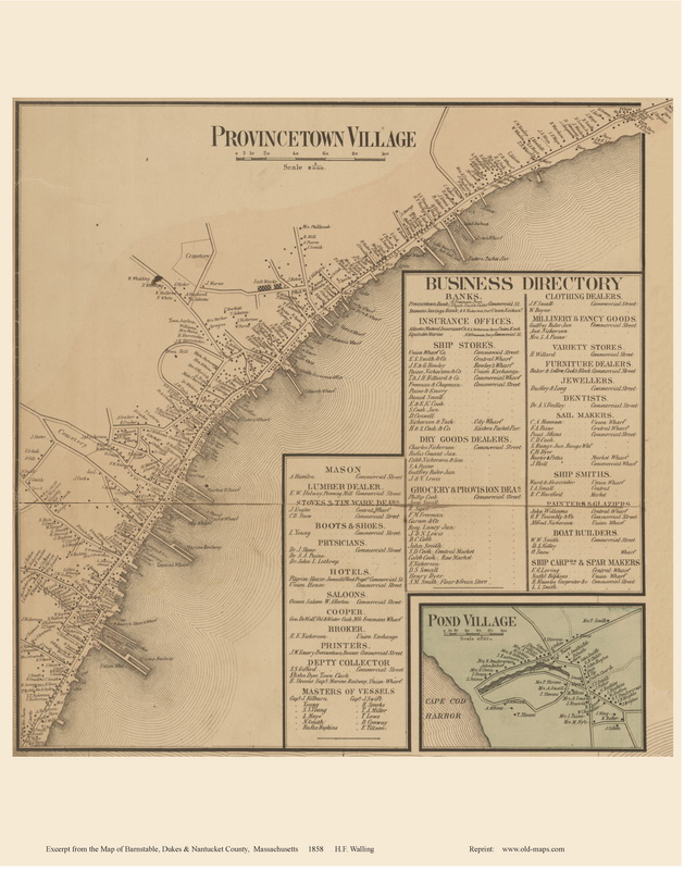 1836 Provincetown 1836 Provincetown Truro See Separate Page Made By The Us Bureau Of Topographical Engineers