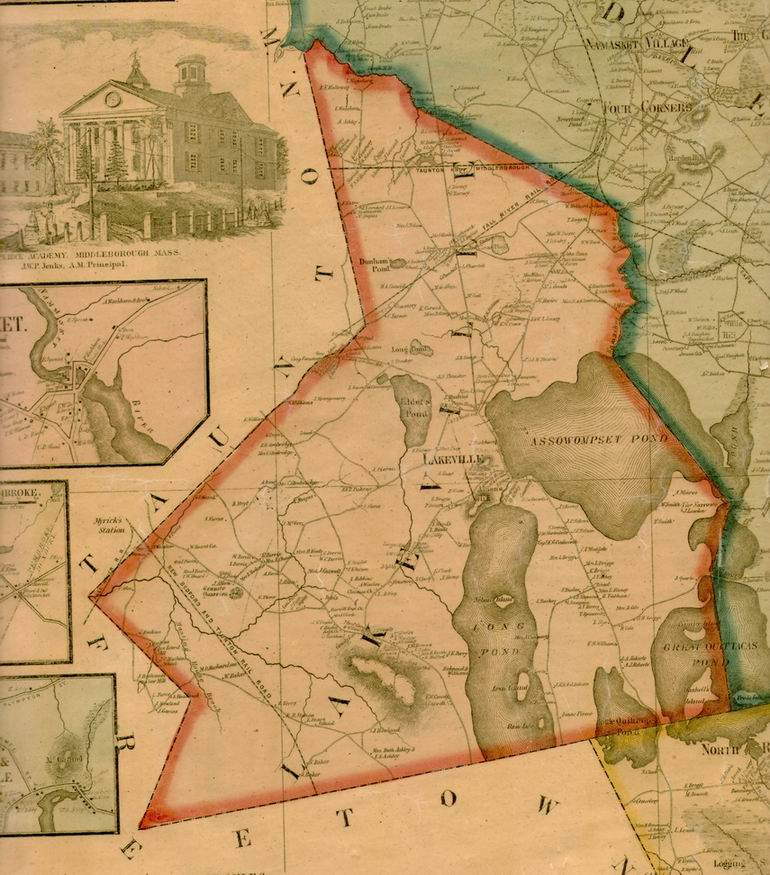 Maps Lakeville Ma Usgenweb Project