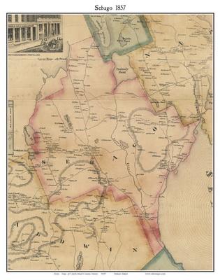 Cumberland County Maine Maps