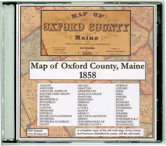 Cumberland County Maine Maps - Sweden maine map