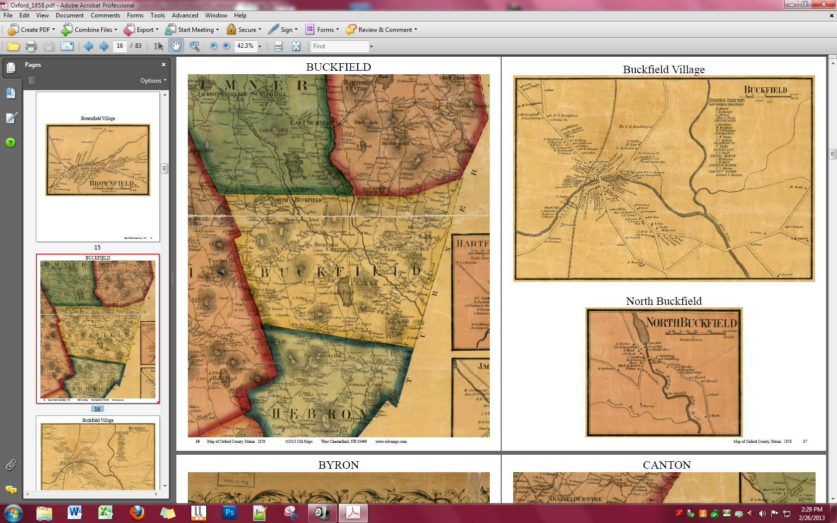 Detail from cumberland co me wall map 1857 gumiabroncs Images