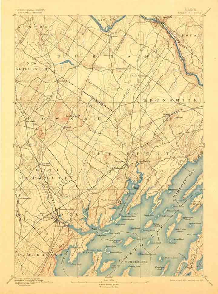 All Old Maine USGS Topos