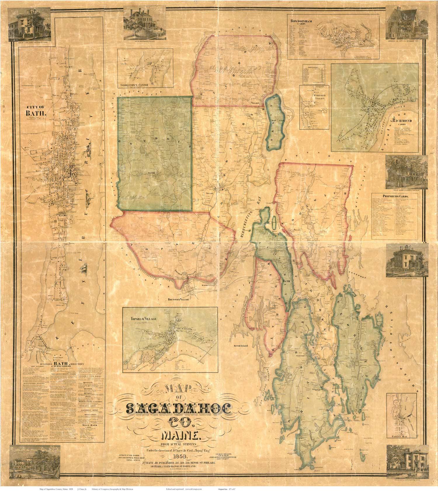 sagadahoc county Sagadahoc county is a county in the mid coast region of maine sagadahoc county, mid coast from mapcarta, the interactive map.