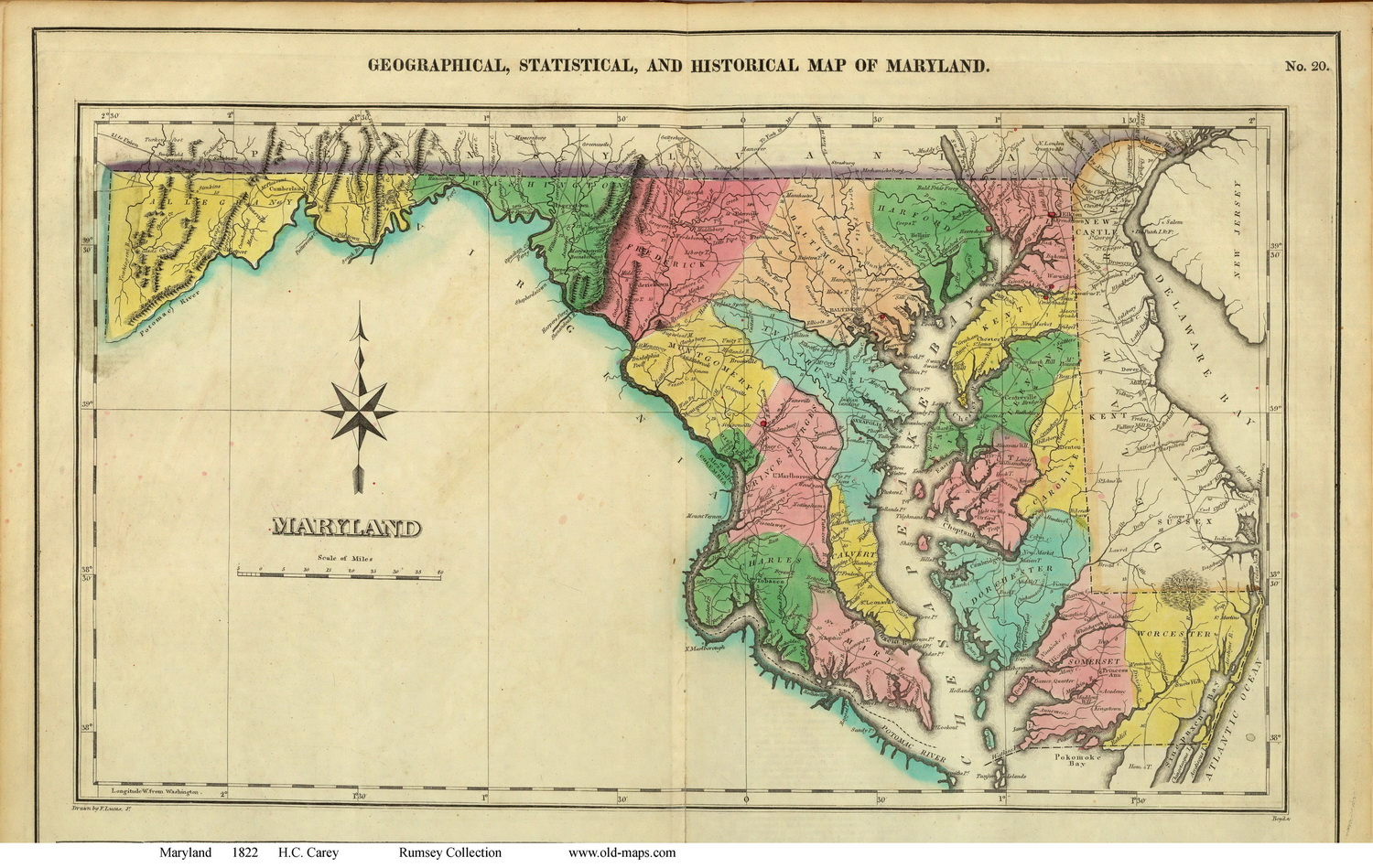 Maryland State Maps Page - Maryland maps