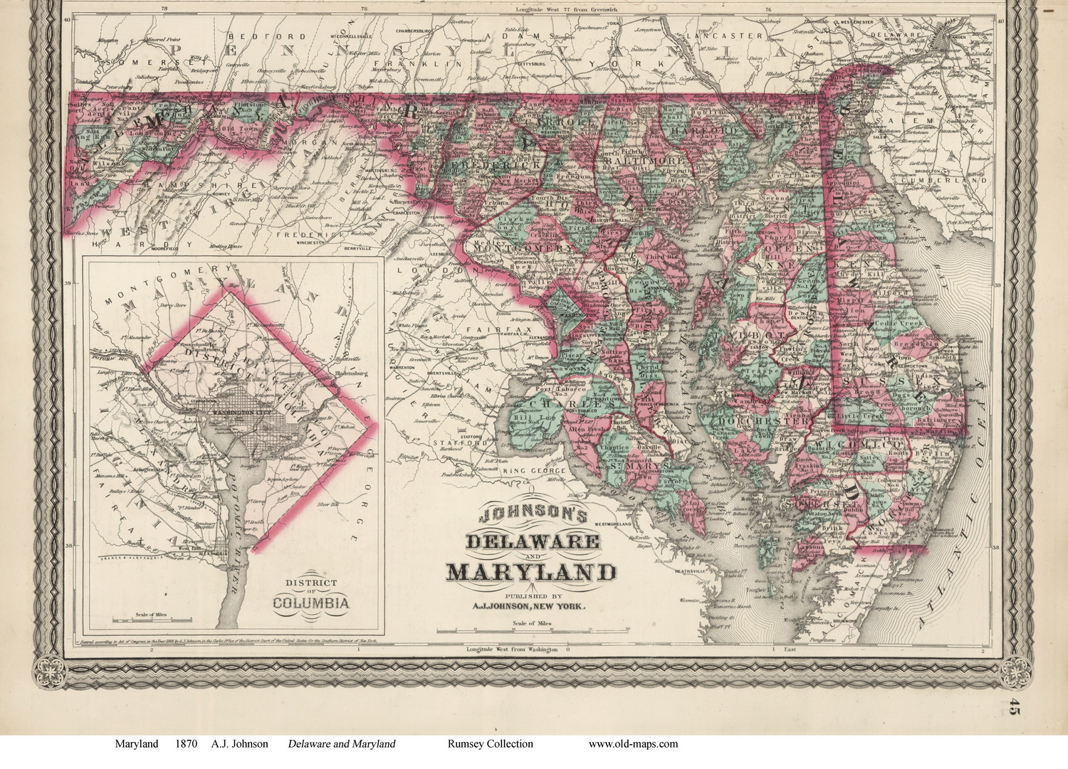 Maryland State Maps Page 5