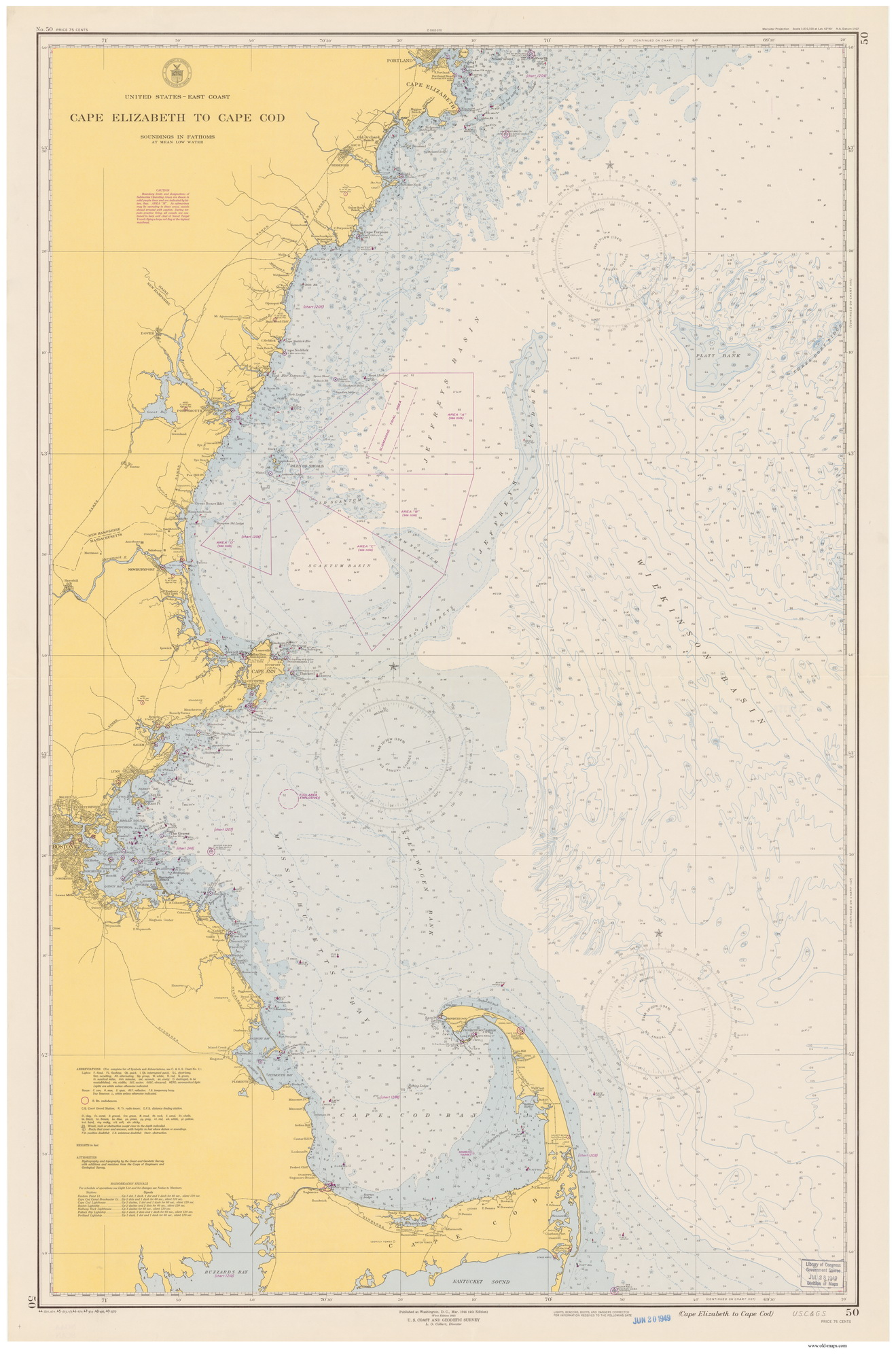 Old Nautical Charts General Charts