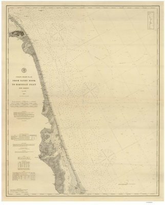 New Jersey Nautical Chart