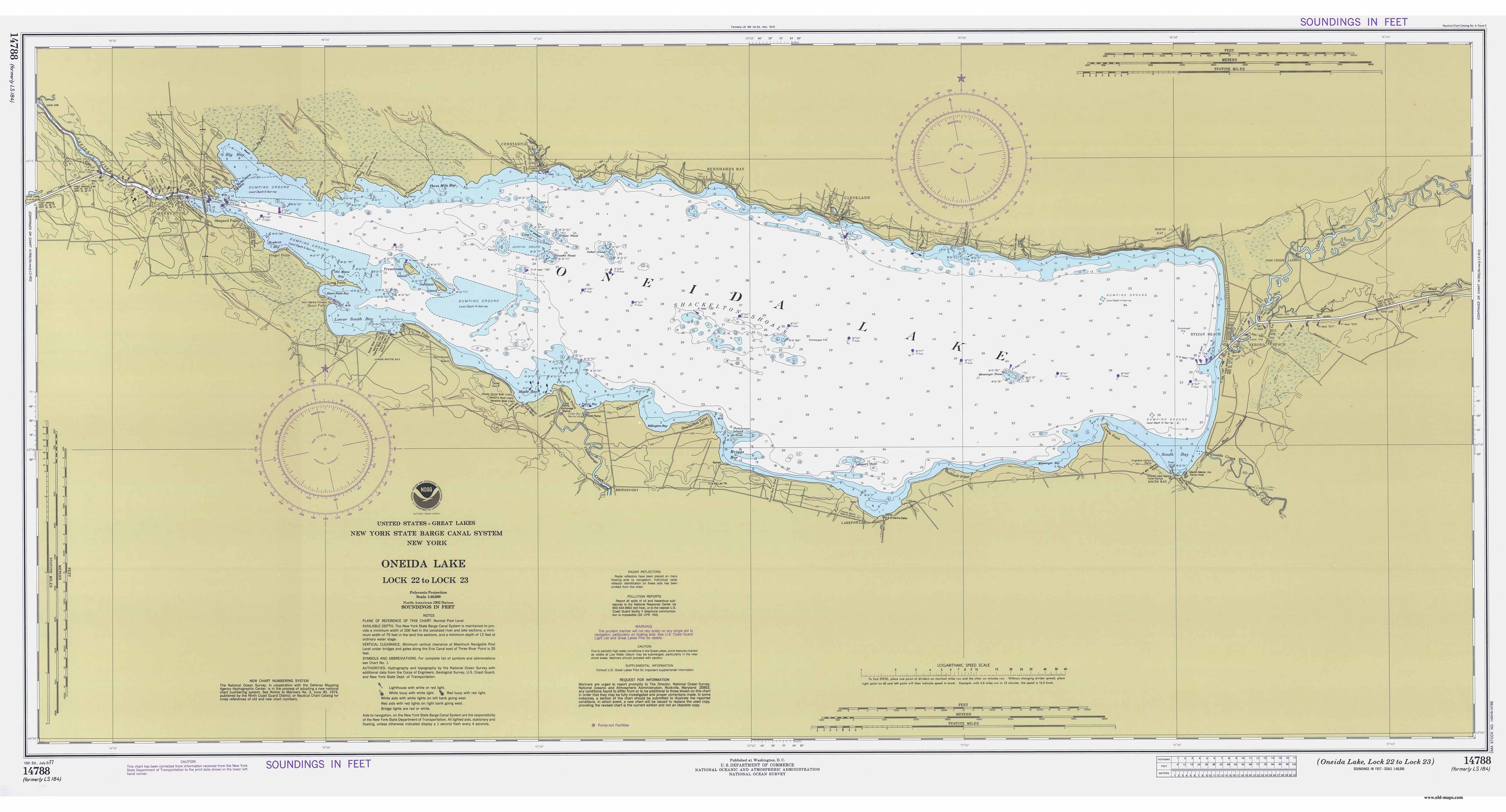 New york historical nautical charts chart 113 morristown ny to butternut bay ontario sciox Gallery