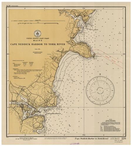 Nantucket And Marthas Vineyard Atlantic Coast Harbor Charts