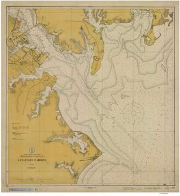 Historical Nautical Charts Of Maryland