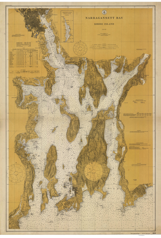 Map Narragansett Rhode Island