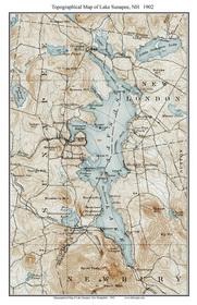 Lake Sunapee Map