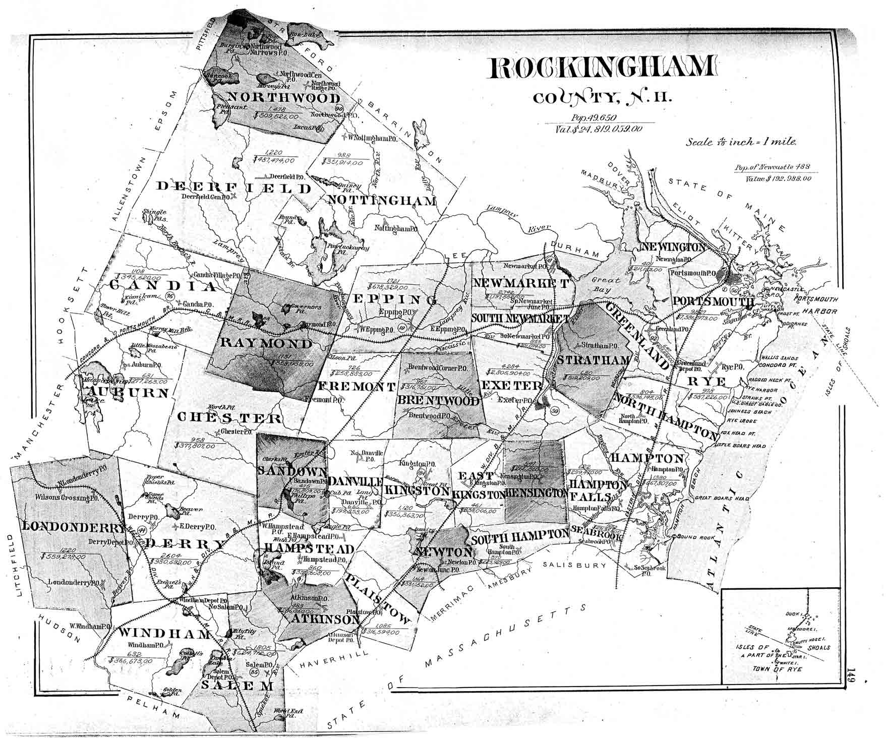 Image Result For New Hampshire Maps