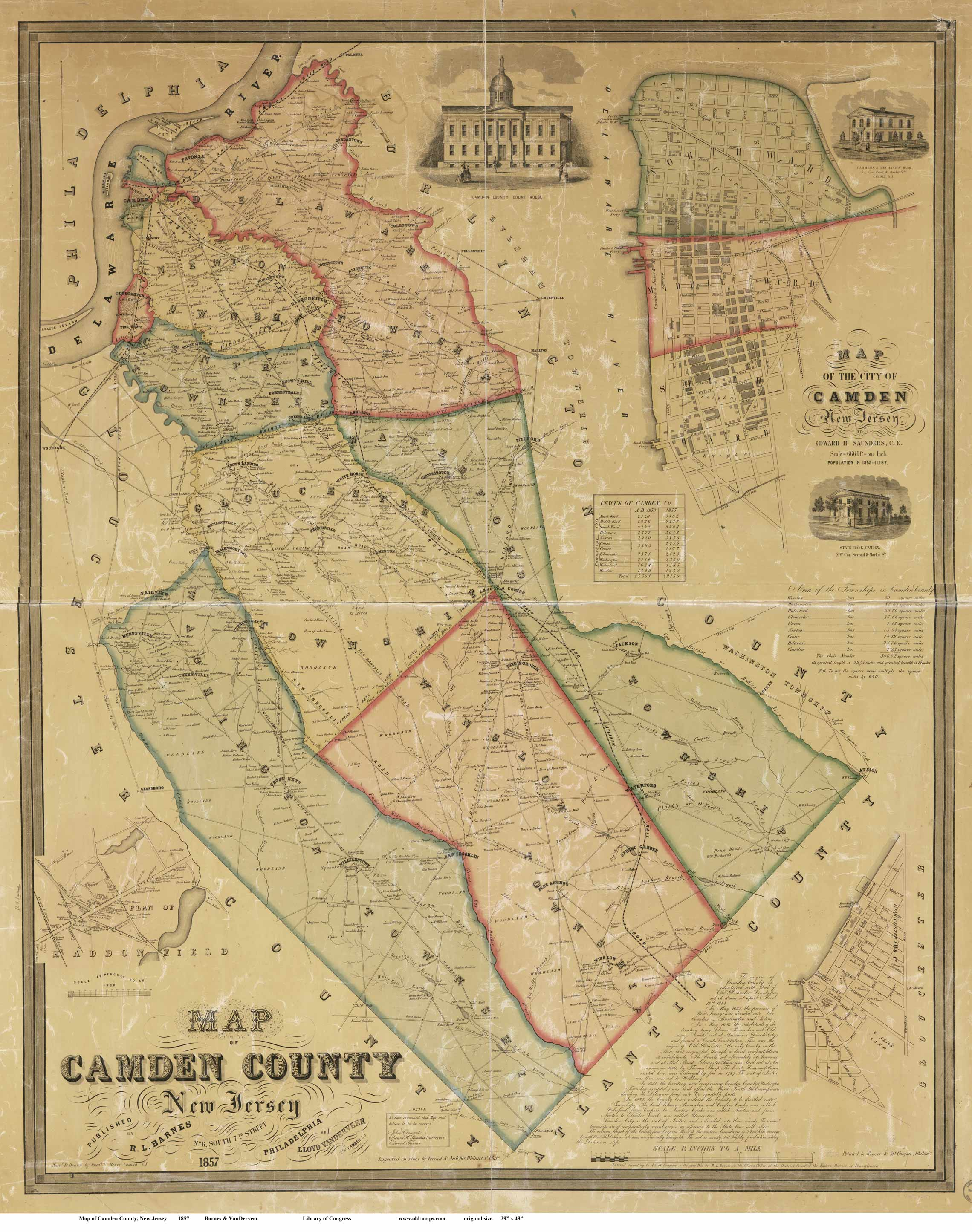 New Jersey County Maps - County map of new jersey