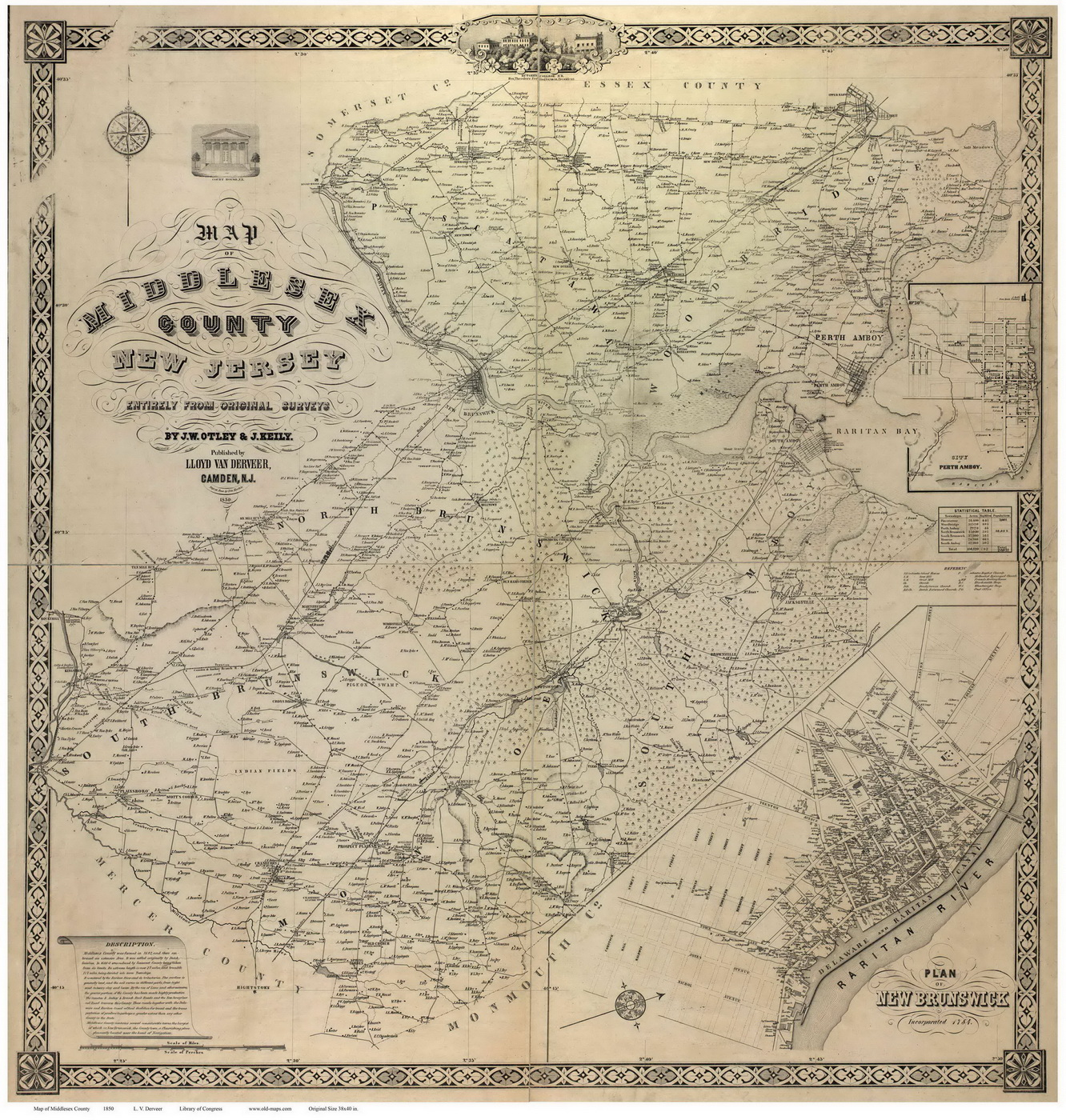 New Jersey County Maps - Maps of nj