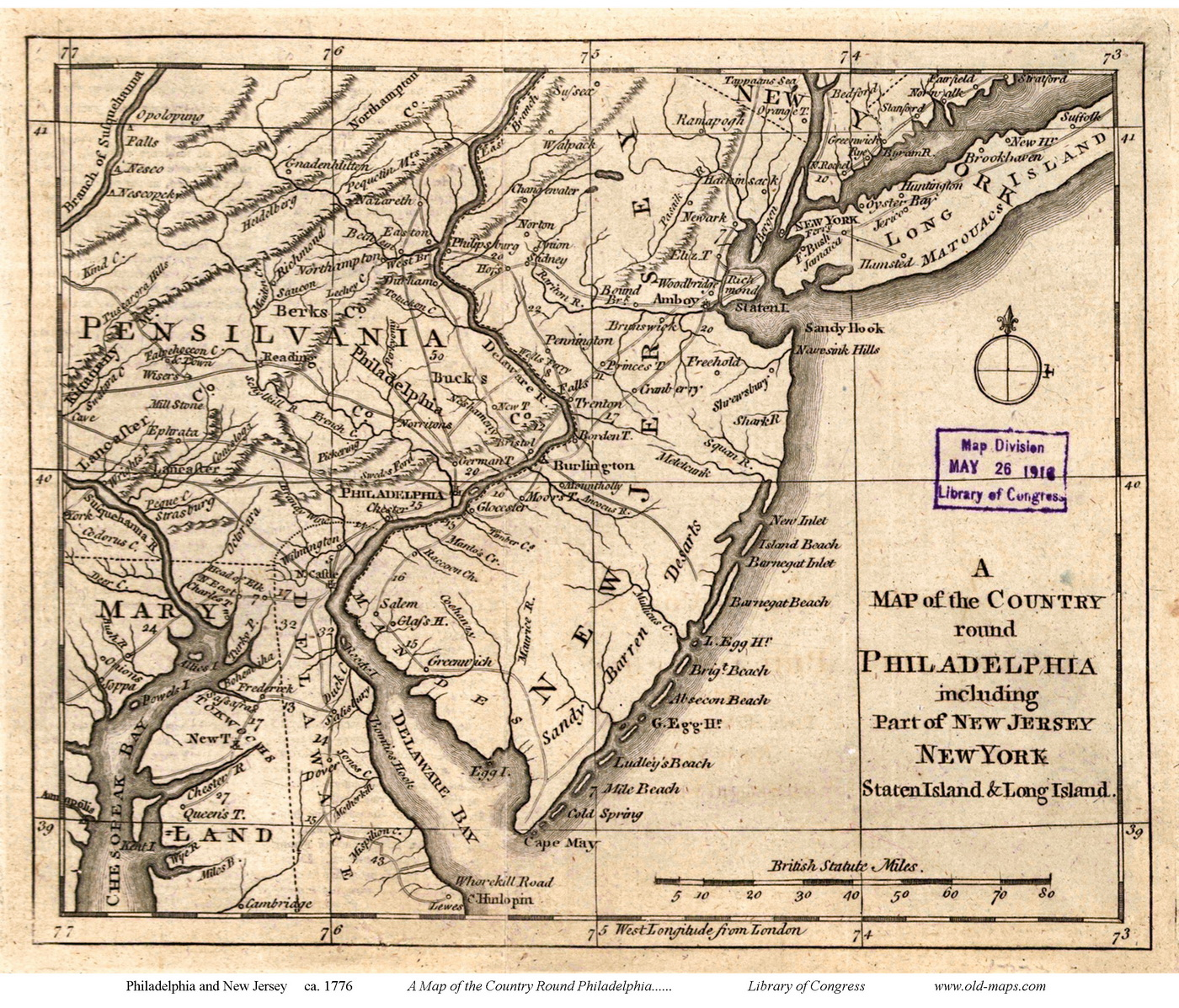 New Jersey State Maps Page - Maps of nj