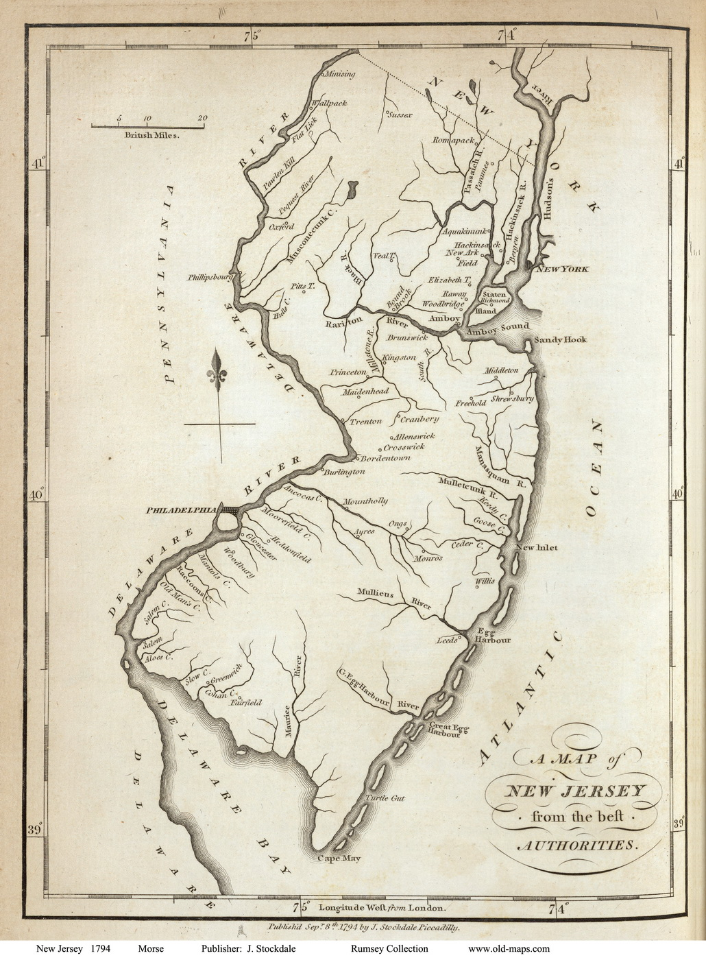 New Jersey State Maps Page - Old maps of dublin