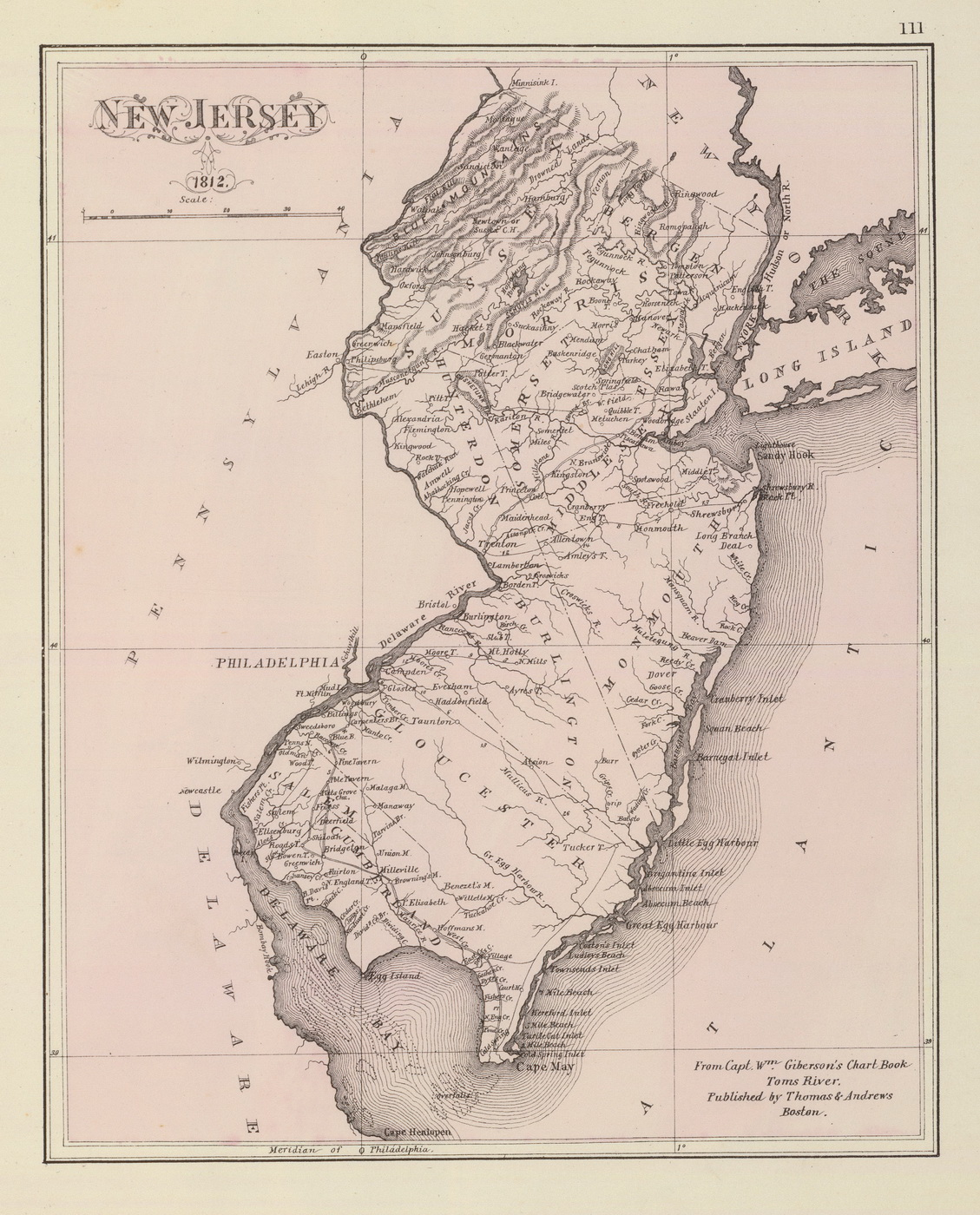 New Jersey State Maps Page - Newjersey map