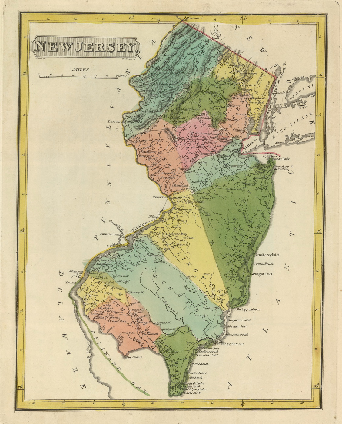 New Jersey State Maps Page - New jersery map