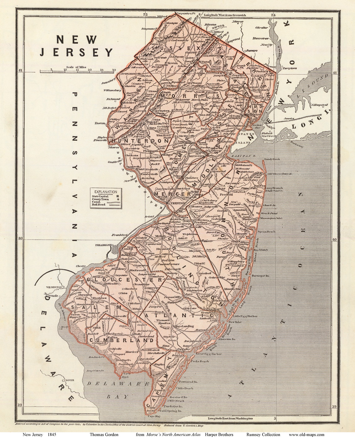 New Jersey State Maps Page 2