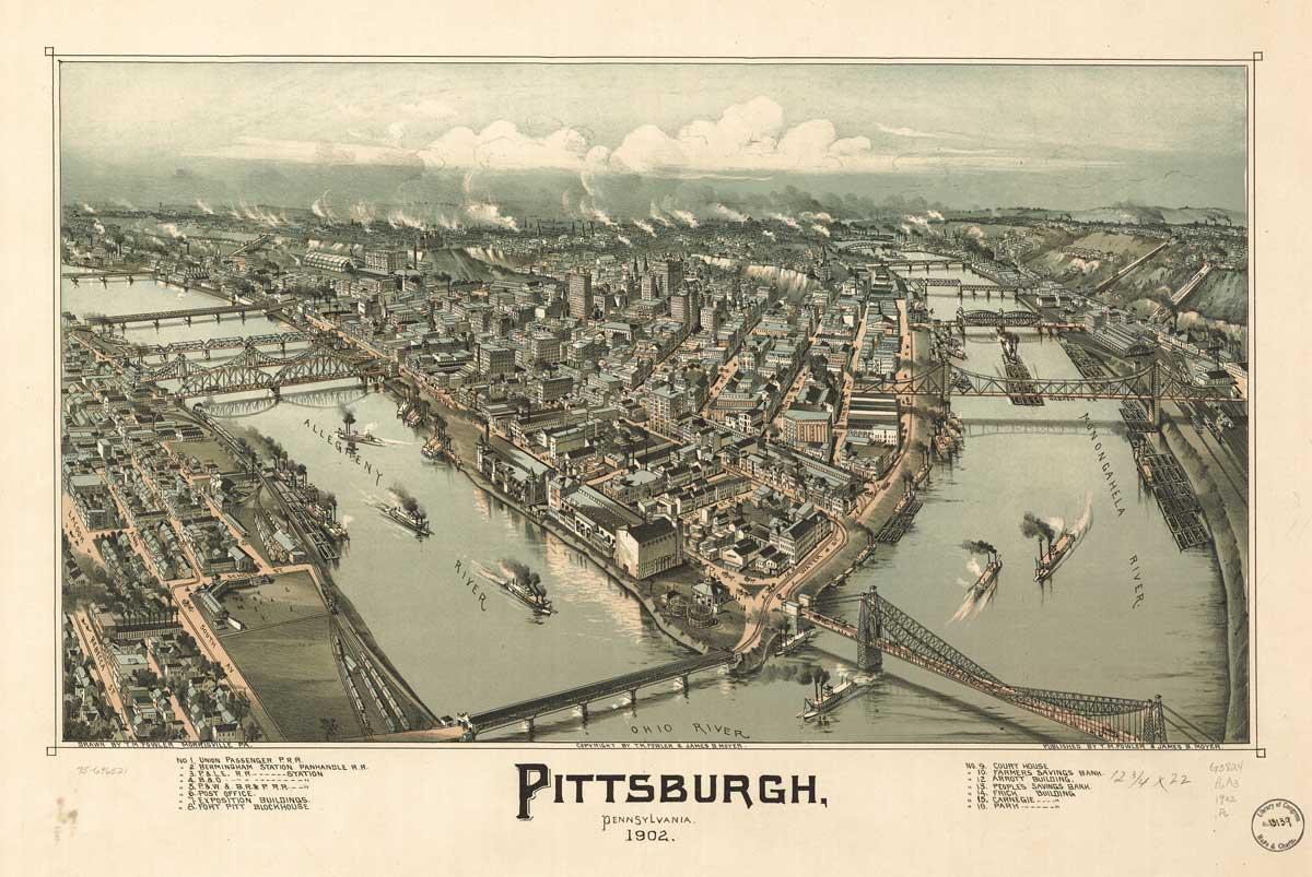 Pennsylvania Bird S Eye Views