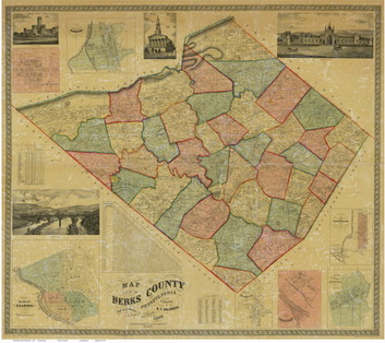 19th century Homeowner maps of Pennsylvania