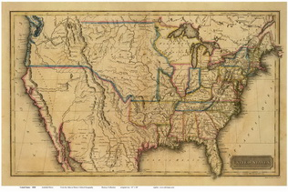 Old Maps of the USA   Prints, Nautical Charts, Railroad Maps