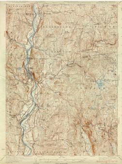 Topographic Map Vermont.Old Vermont Usgs Topographic Maps